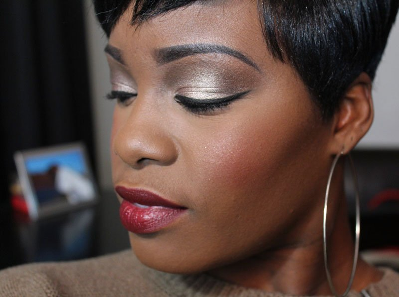 Urban Decay Naked Palette Makeup Look