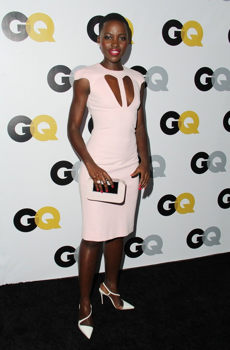 GQ Men Of The Year Party at The Wilshire Ebell Theatre - Arrivals Featuring: Lupita Nyong'o Where: Los Angeles, California, United States When: 12 Nov 2013 Credit: FayesVision/WENN.com