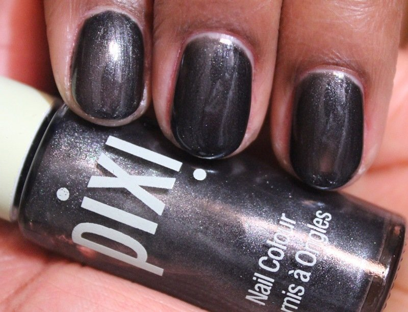 pixi nail colour charcoal celebration