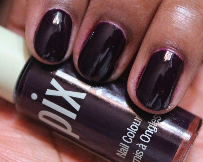 pixi nail colour deepest dahlia