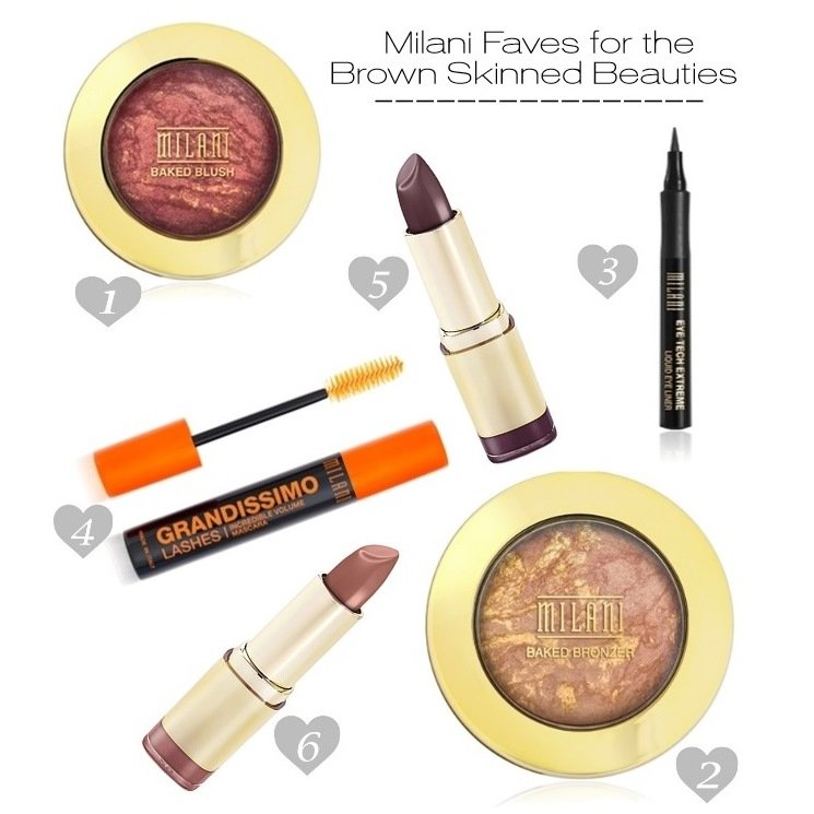 Milani Favorite Products for Dark Skin