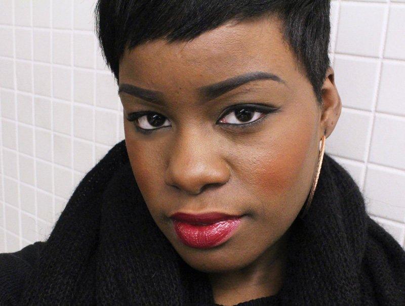 Power Lip Lasting & Moisturizing Gloss Stain Cabaret Blend Dark Skin