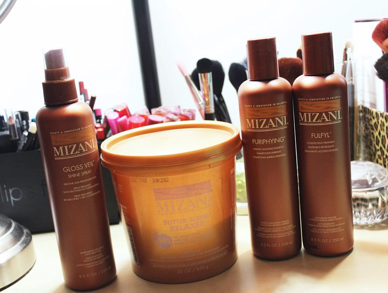 mizani hair products review