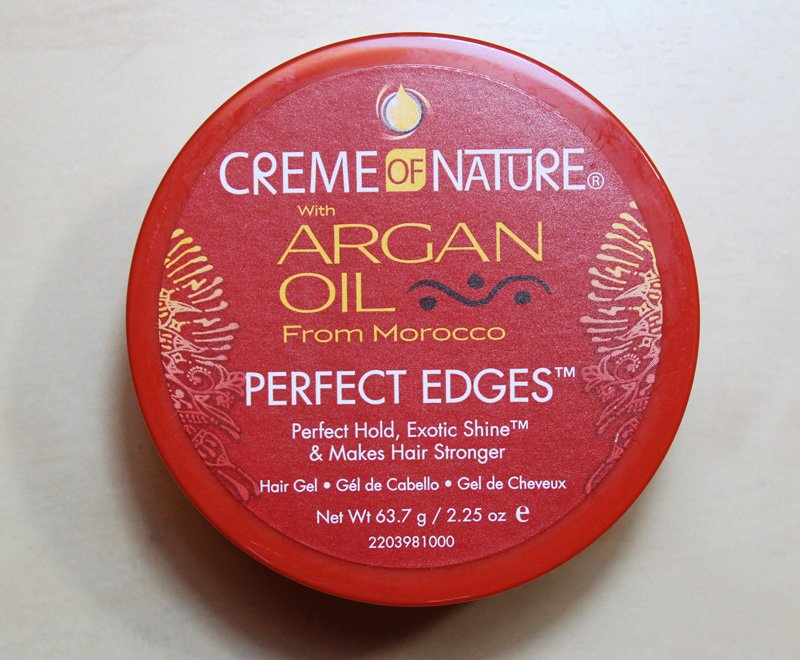 Creme of Nature Argan Oil Perfect Edges Review