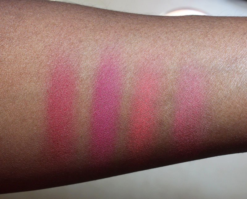 Milani Limited Edition Roses Blush Swatches