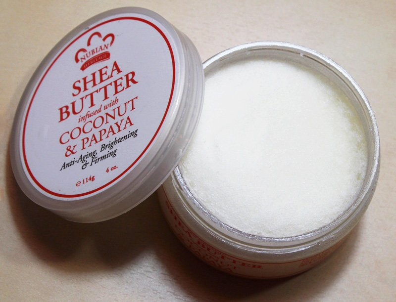 Nubian Heritage Shea Butter infused with Coconut & Papaya