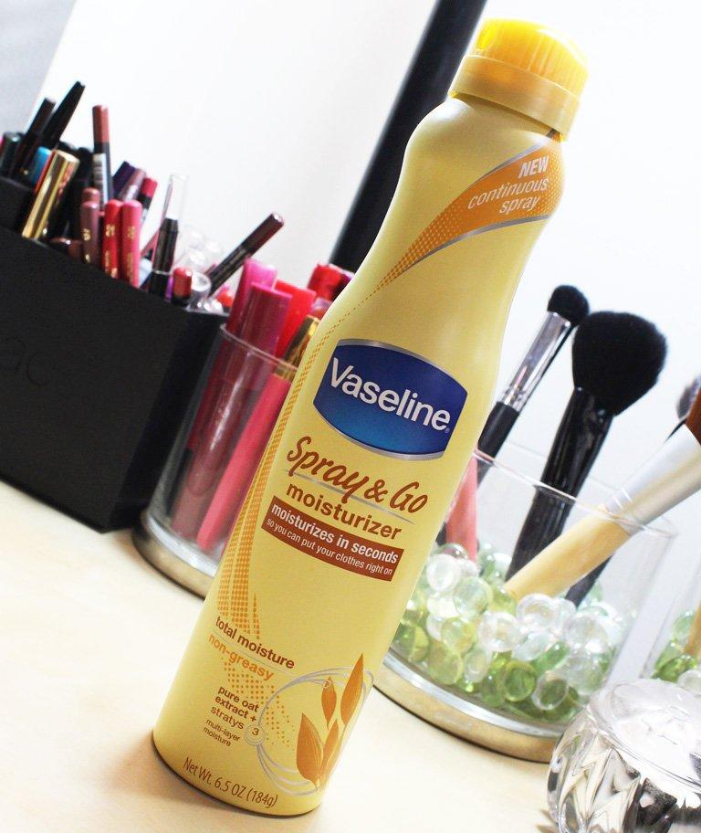 Vaseline Spray and Go Moisturizer Review