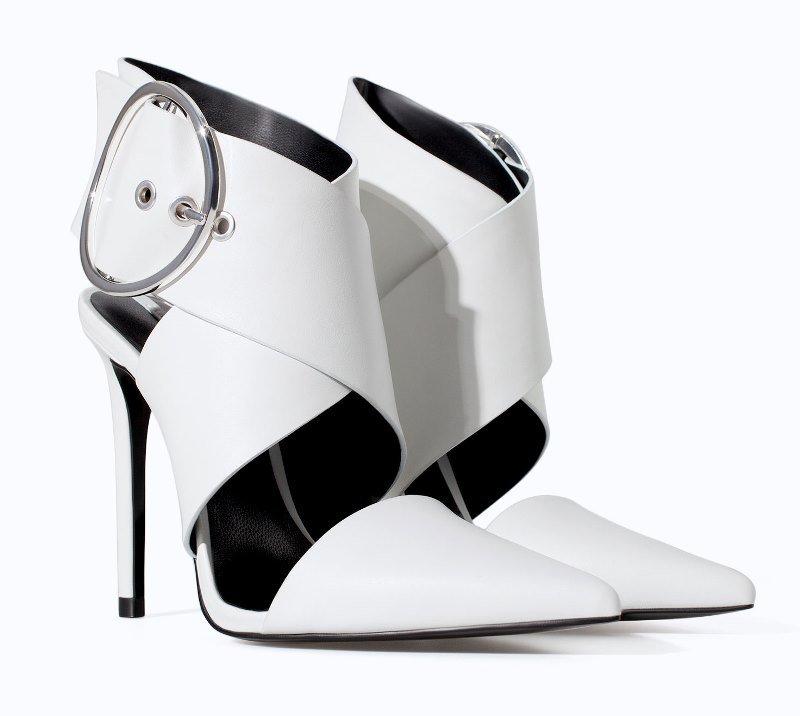Zara Buckle Heels
