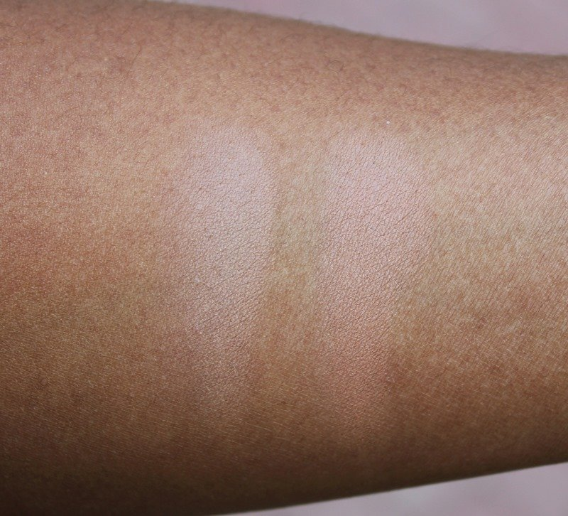 Milani Matte Baked Bronzers swatches