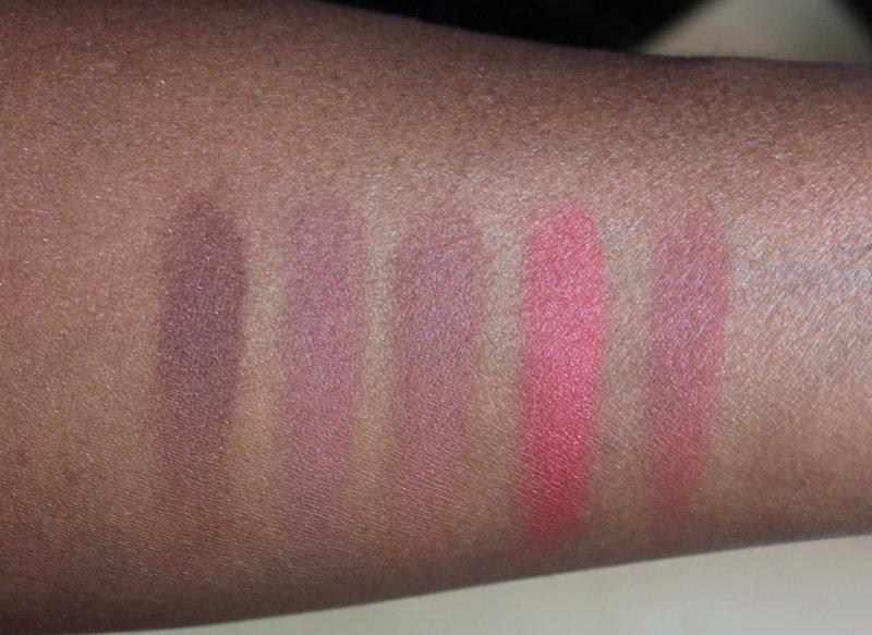 Sleek Makeup Bronze Block dark swatches
