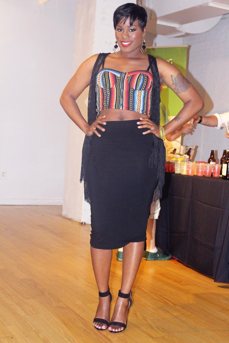 tribal Bustier outfit