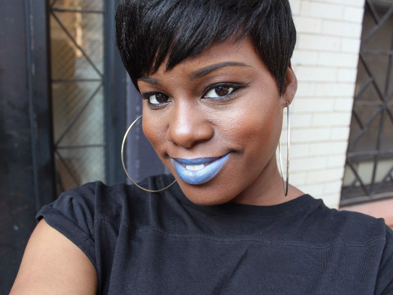 milani Bella Blue Lip Art Lipstick