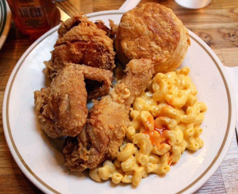 Pies 'n' Thighs fried chicken