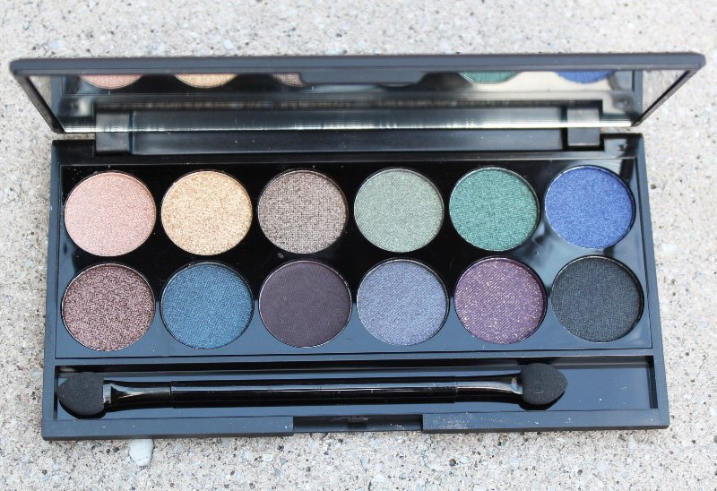 Sleek MakeUp i-Divine Arabian Nights Smoke & Shadows Palette