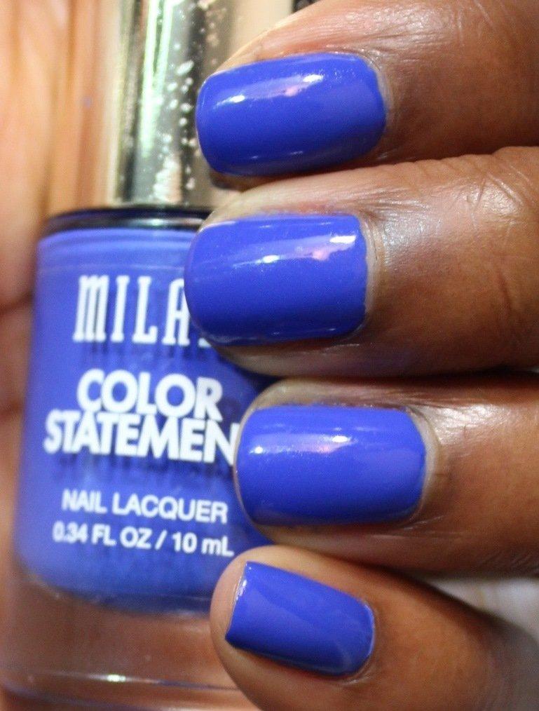 Milani Color Statement Nail Lacquer blue print