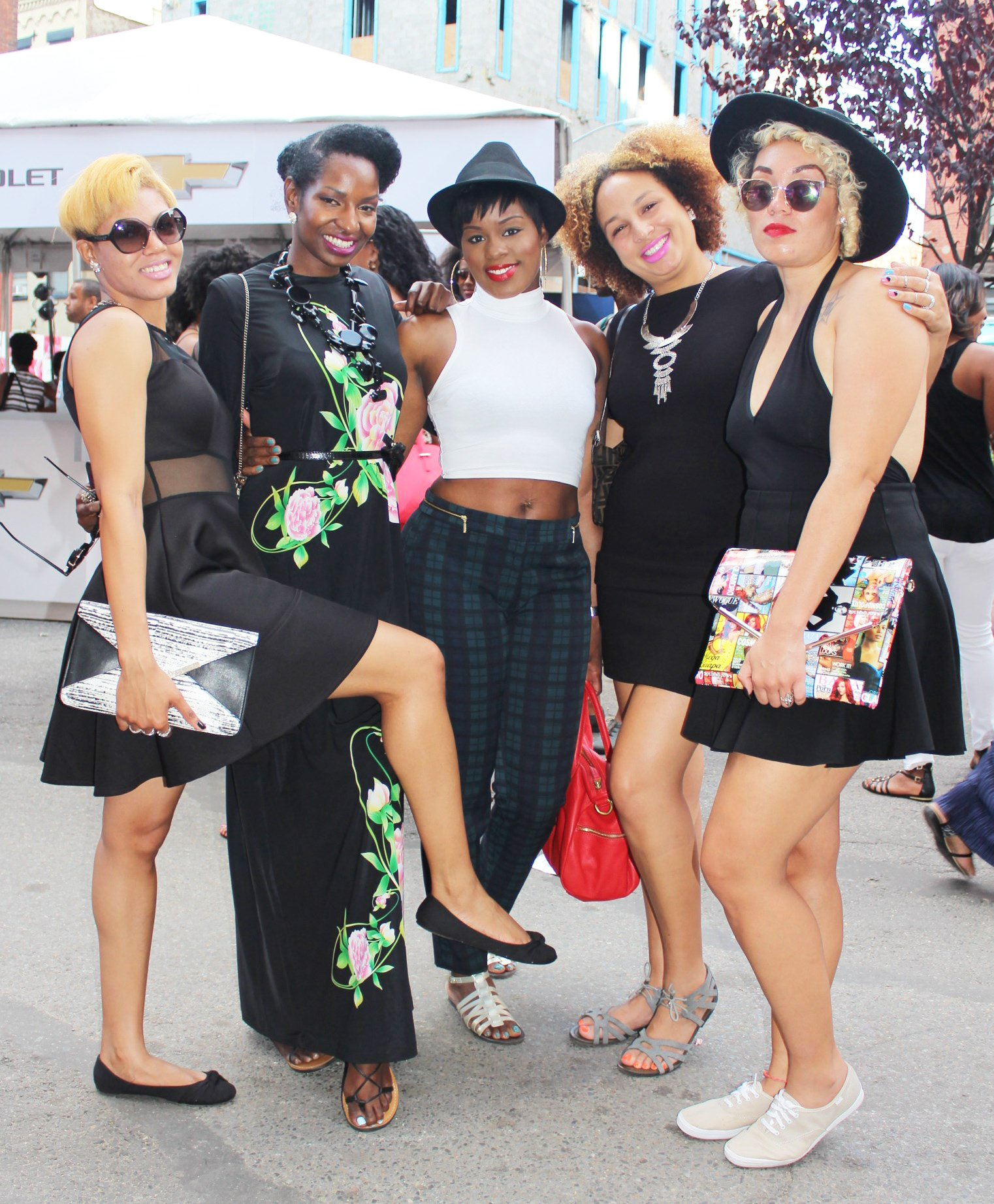 Essence Street Style Block Party 2014