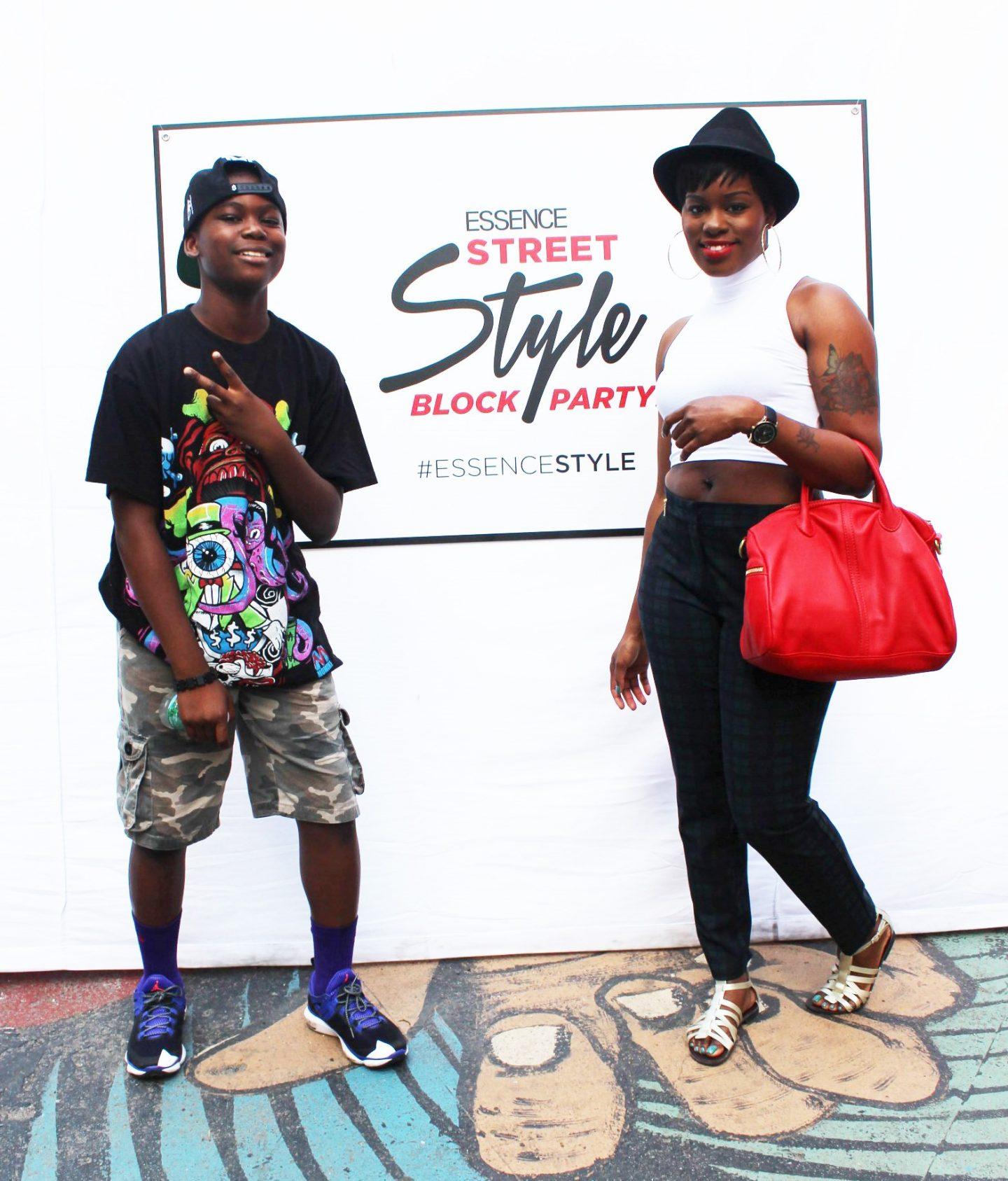 Essence Street Style Block Party 2014