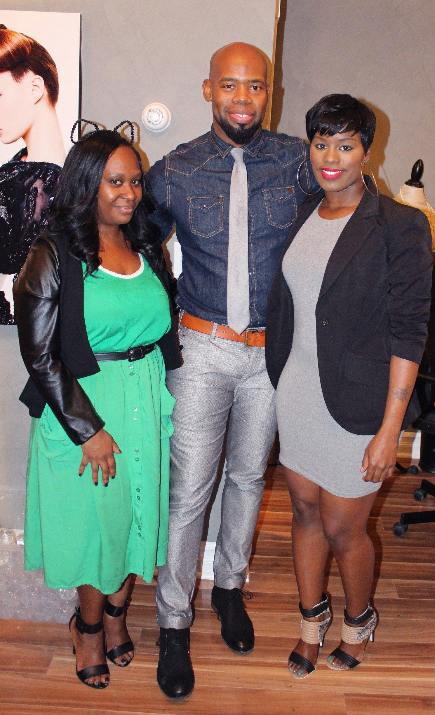 Noël New York Salon & Boutique Launch Party Derek Blanks
