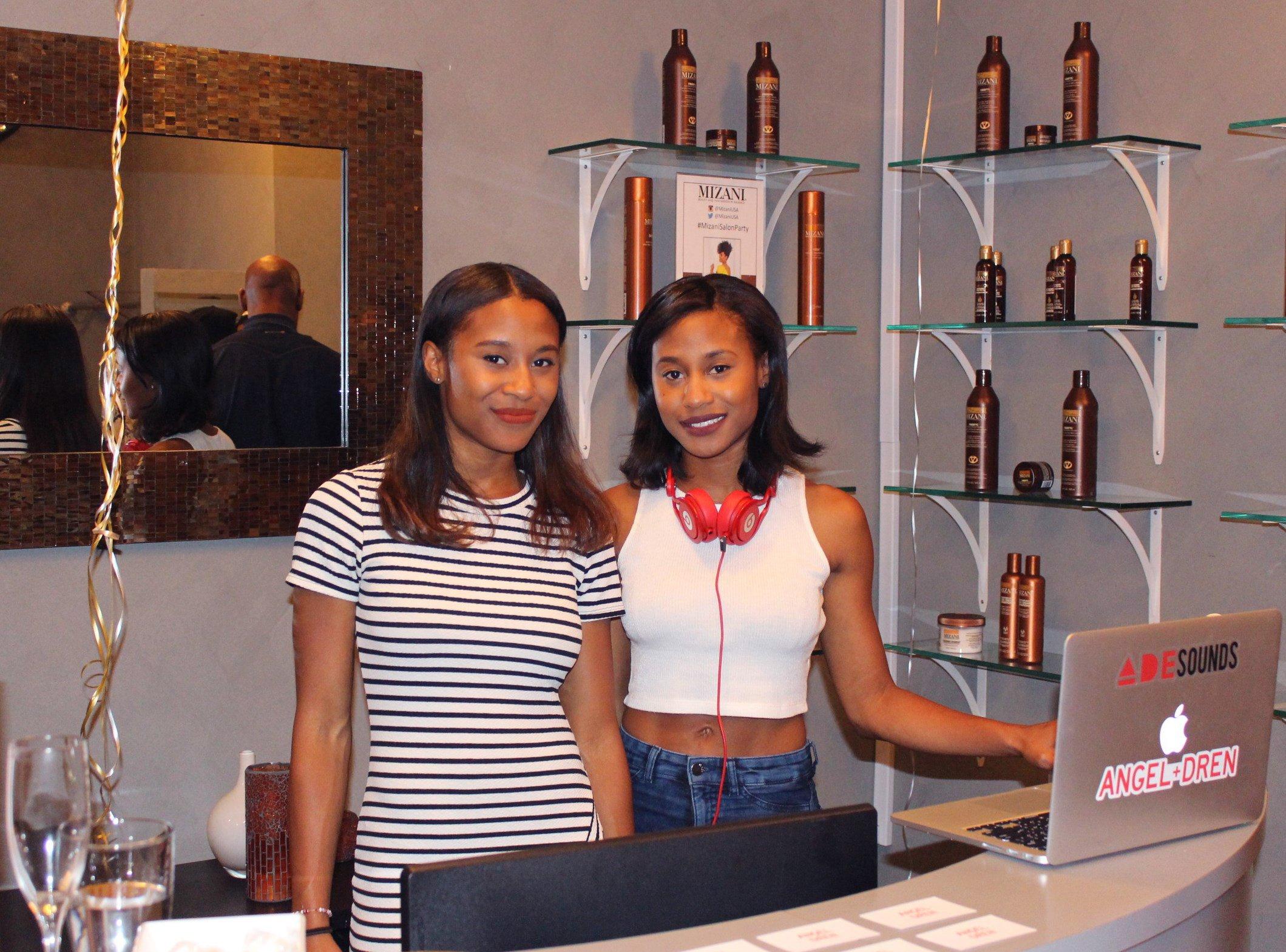 Noël New York Salon & Boutique Launch Party DJ Angel and Dren