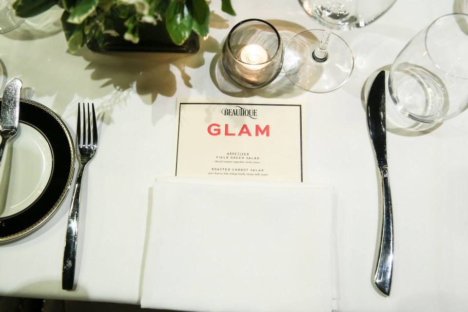 NYFW Dinner With Glam at Beautique NYC