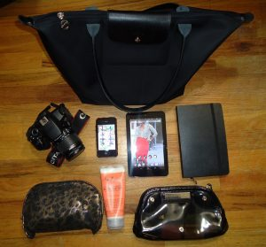 what's in my bag blogger