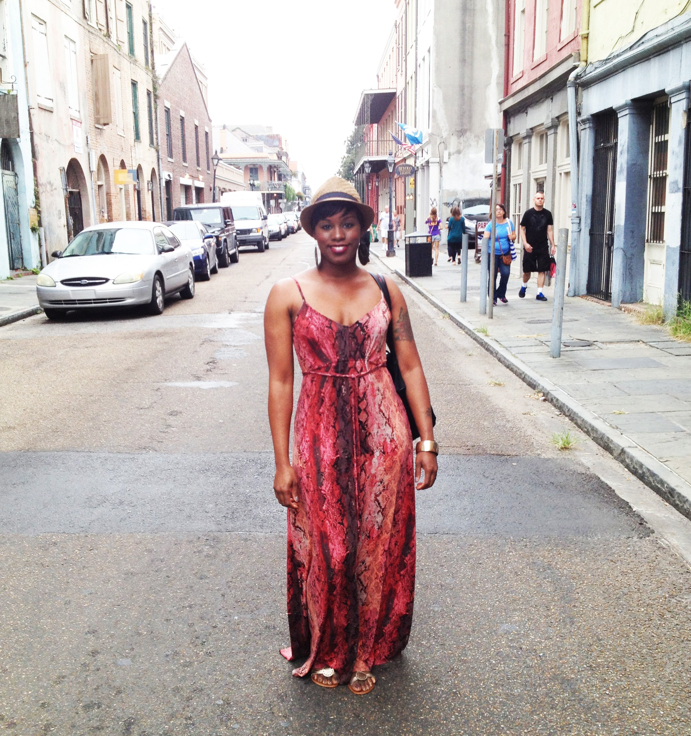 wear maxi dress new orleans