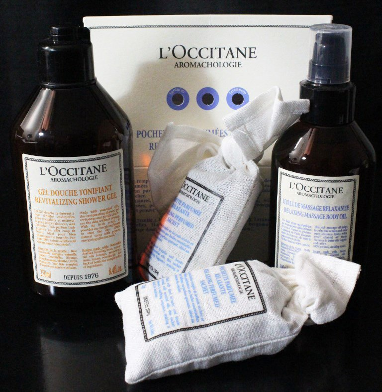 L'Occitane Aromachologie Relaxing & Revitalizing Body Collection