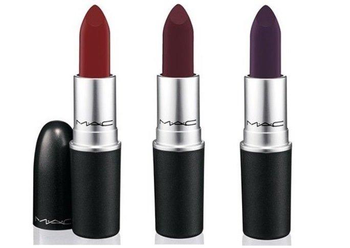 mac nasty gal collection lipsticks