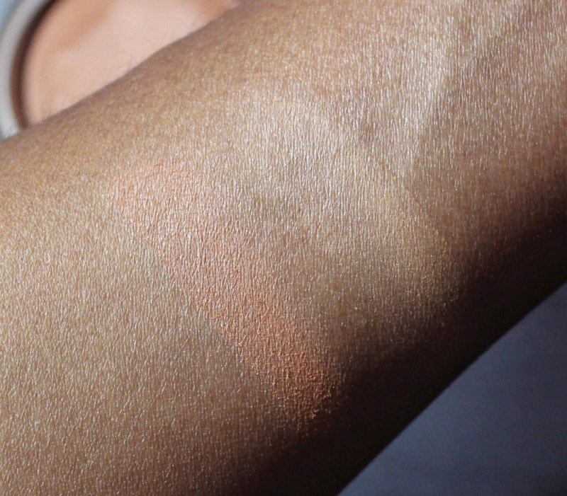 MAC Mineralize Skinfinish Natural Dark Compared To Deep Dark swatches