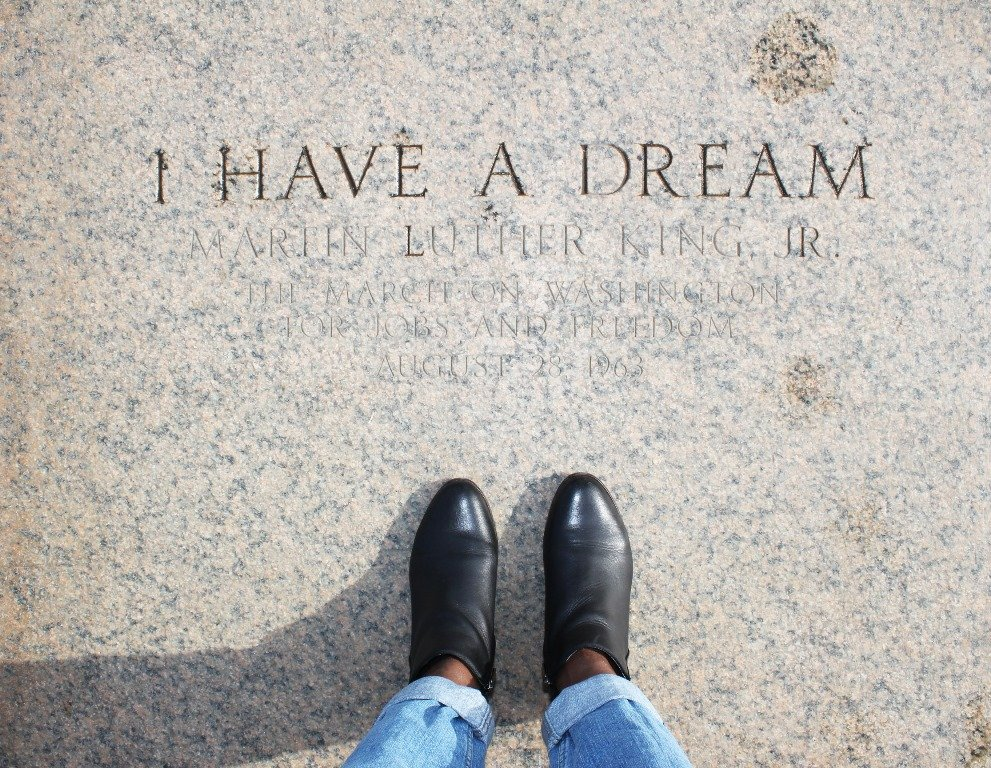 lincoln memorial steps i have a dream