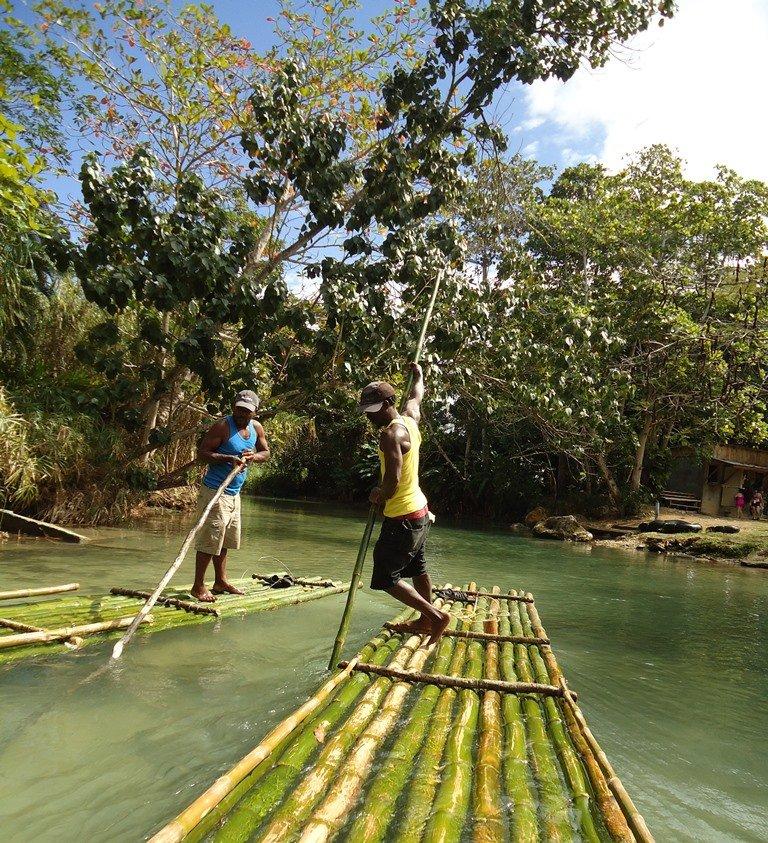 white river rafting jamaica