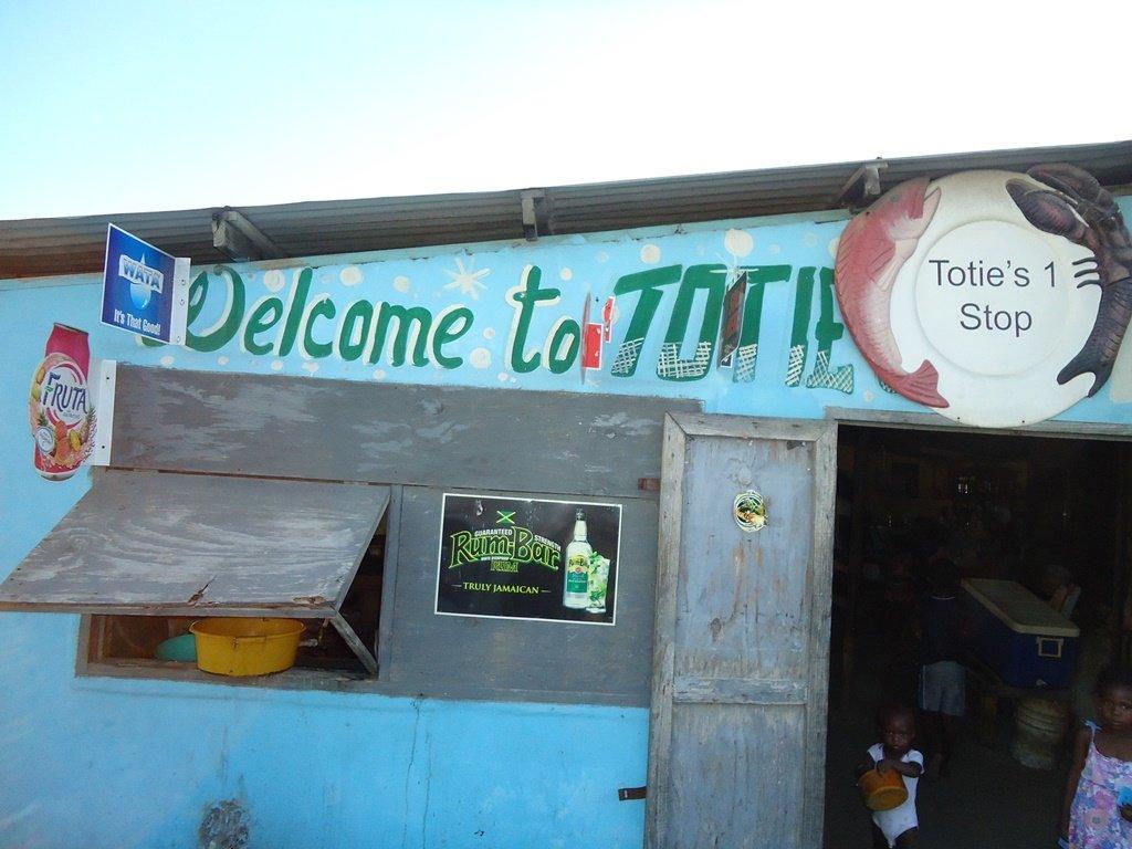 totie's shop hellshire beach jamaica