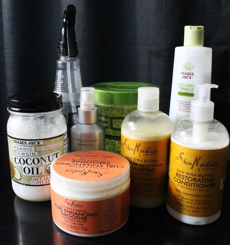 Products I'm Using On My Natural Hair