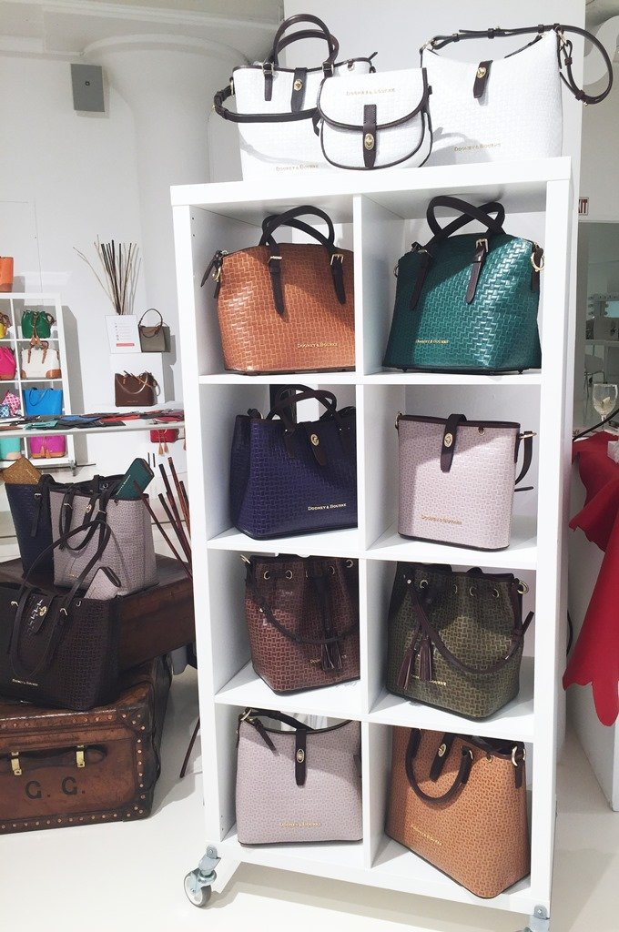 Dooney & Bourke Fall 2015 Claremont Woven Collection