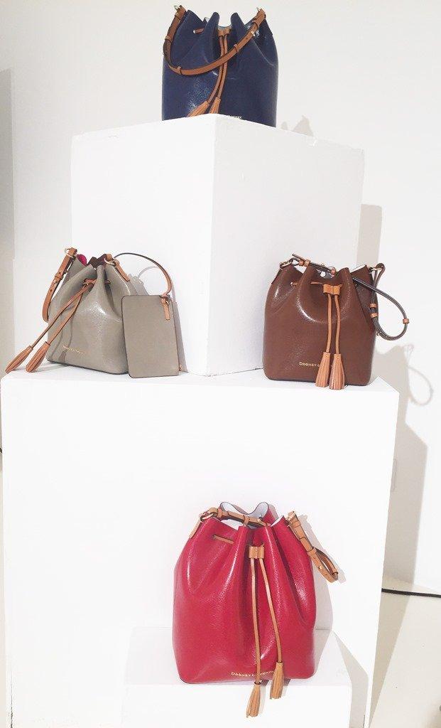 Dooney & Bourke Fall 2015 Siena Collection Bucket Bags