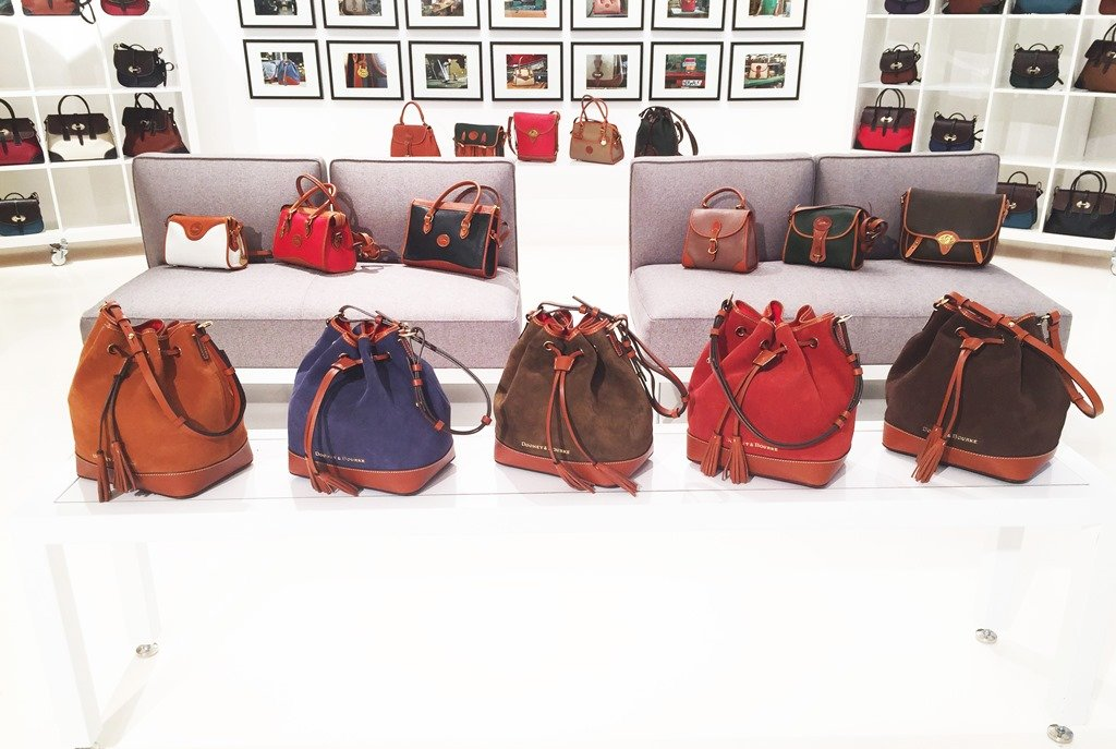 Dooney & Bourke Fall 2015 Suede Collection