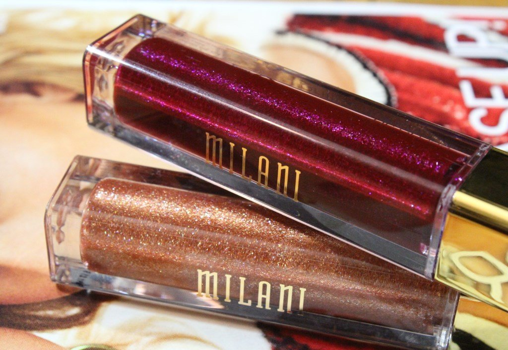 milani fierce foil lip gloss