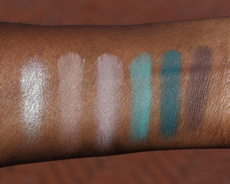 Sleek MakeUp i-Divine Del Mar Vol II Palette Swatches