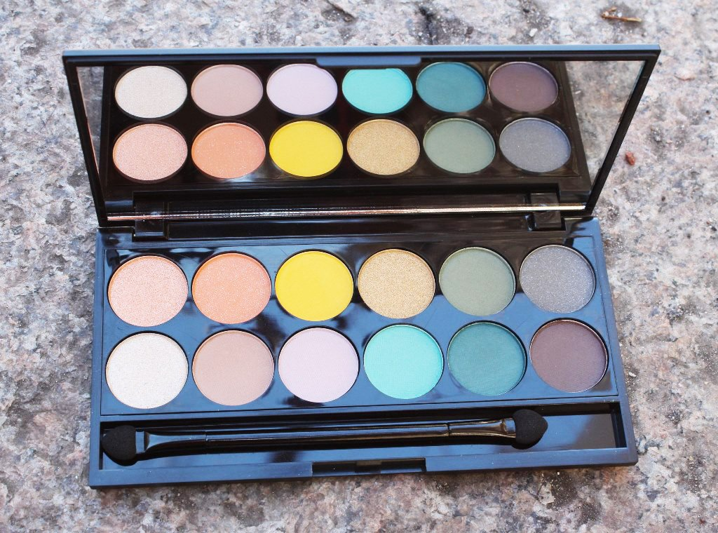 Sleek MakeUp i-Divine Del Mar Vol II Palette