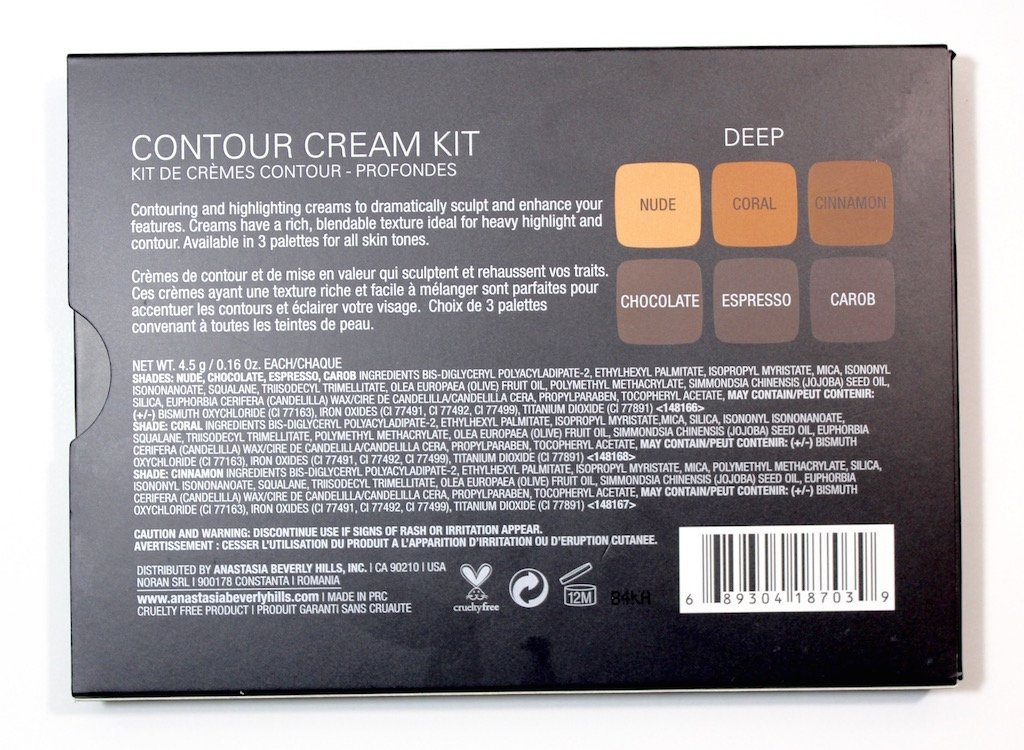 Anastasia Contour Cream Kit Deep