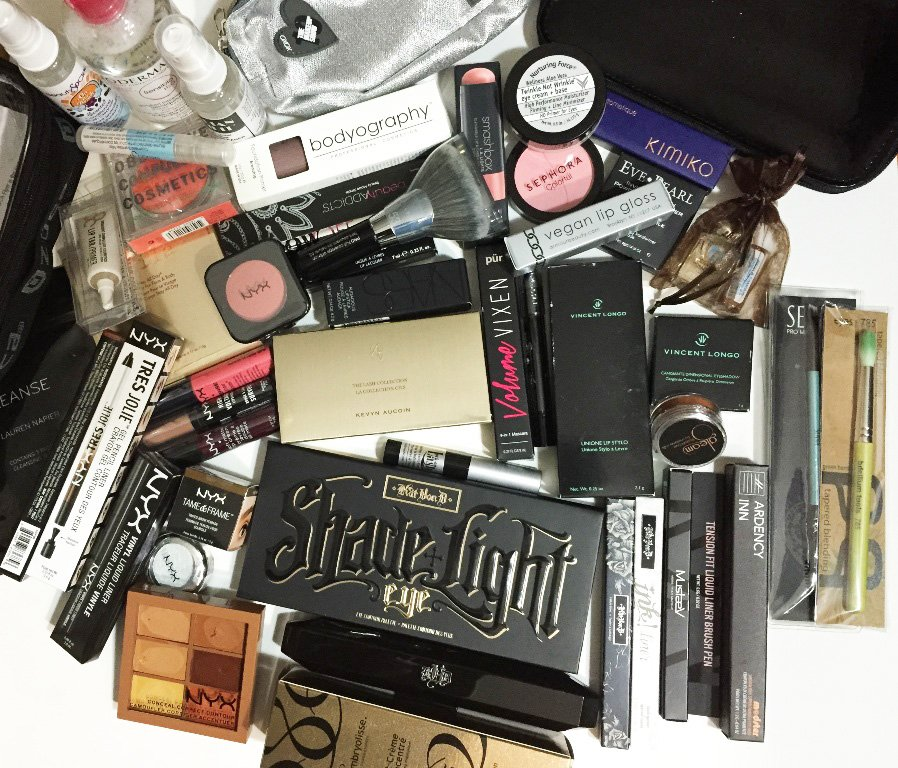 the makeup show nyc blogger preview gift bag