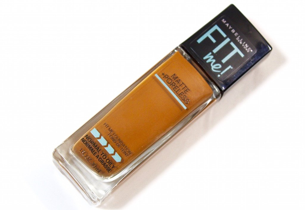 maybelline fit me matte + poreless foundation 355 coconut