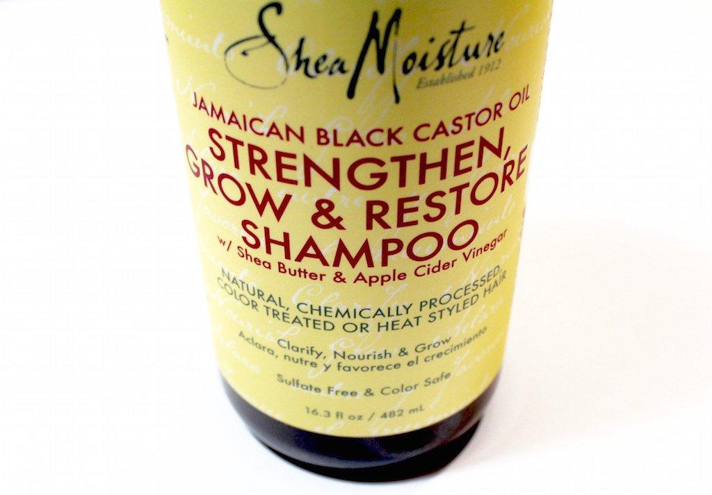 SheaMoisture Jamaican Black Castor Oil Strengthen, Grow & Restore Shampoo