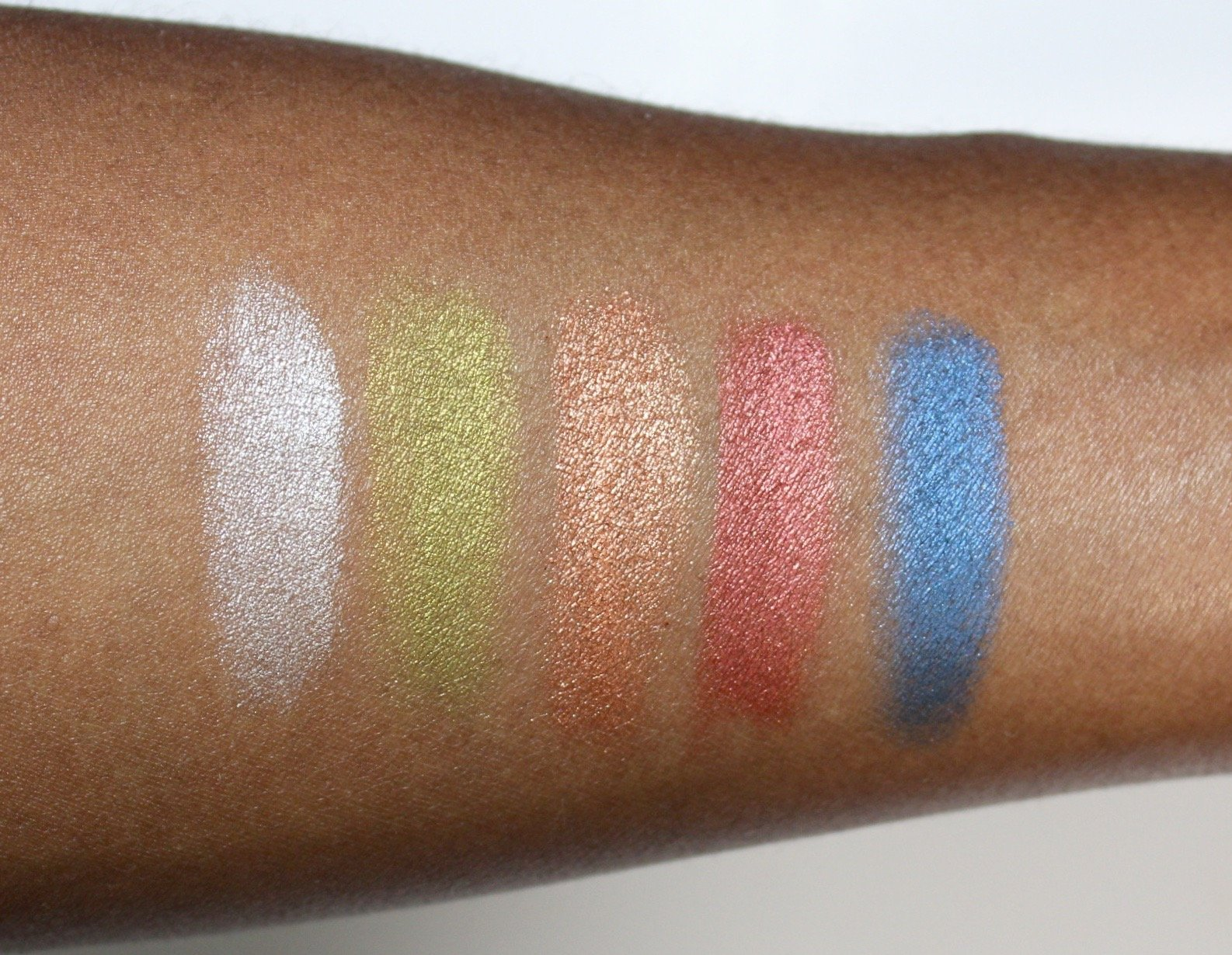 Aboslute New York True Eyeshadow Palette Element Swatches