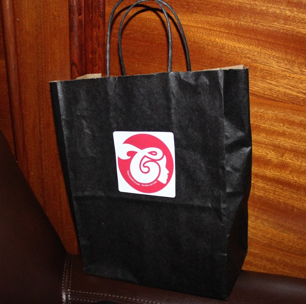 Tribe Called Curl Kinks and Drinks gift bag