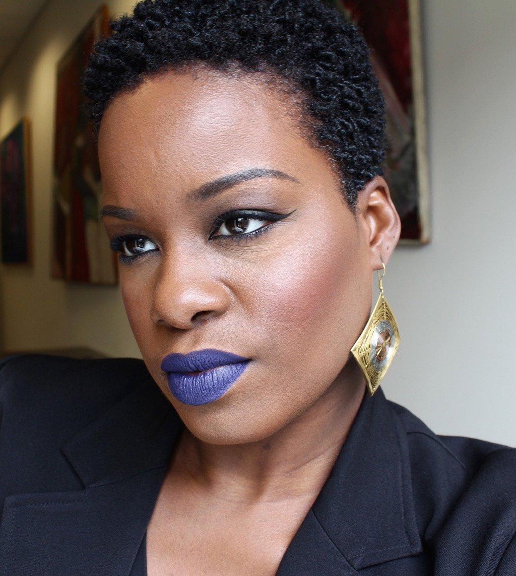 LASplash Smitten Lip Tint Mousse in Bellatrix Dark Skin