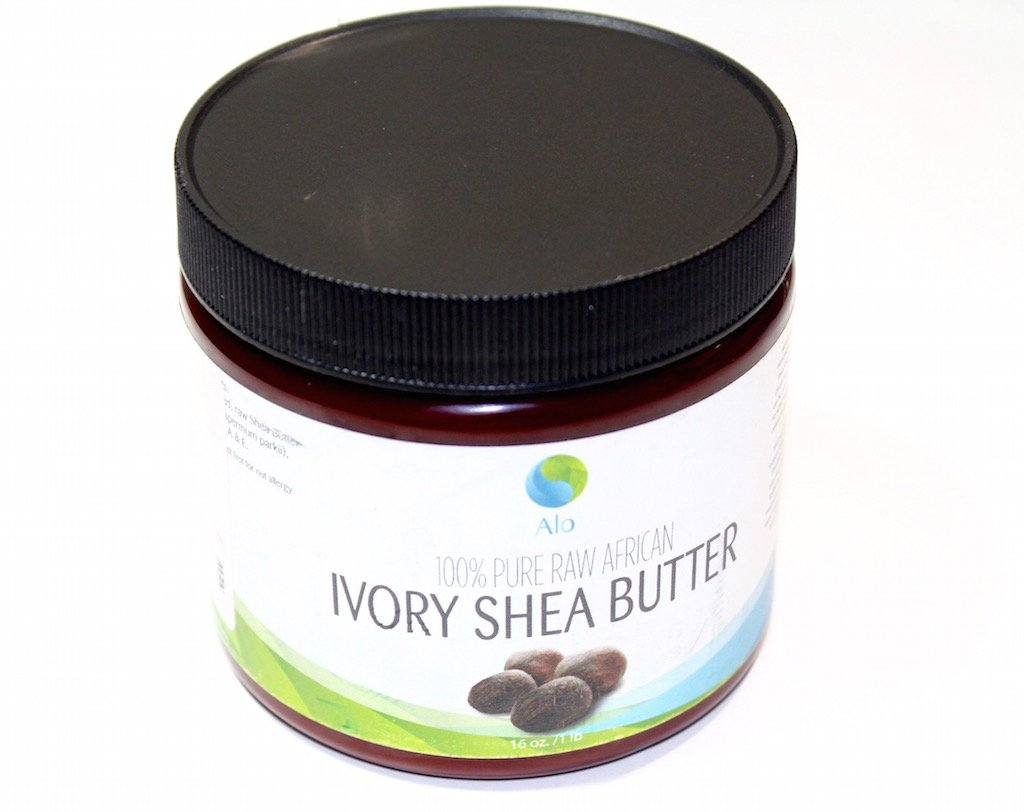 Alo 100% Pure Raw African Ivory Shea Butter
