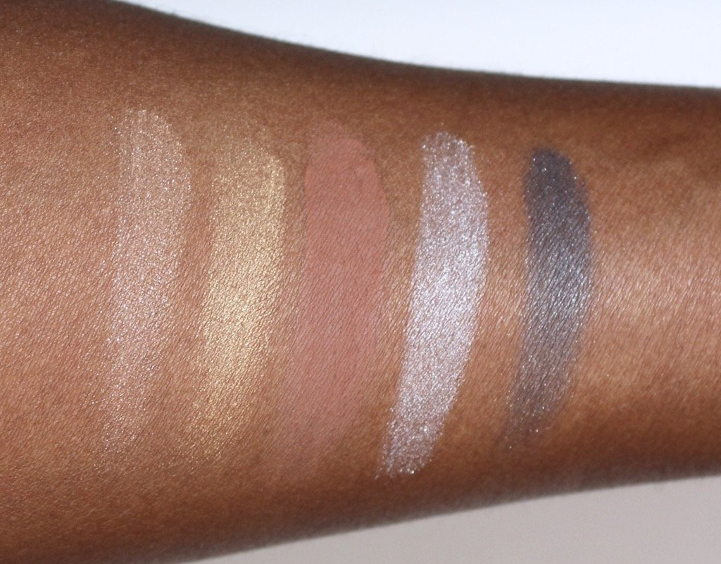 Vera Moore Cosmetics Eyeshadow Swatches
