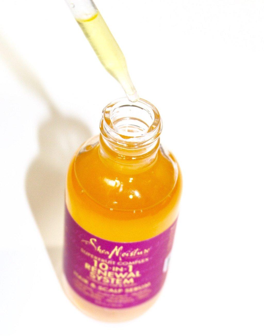sheamoisture superfruit complex 10-in-1 renewal hair & scalp serum