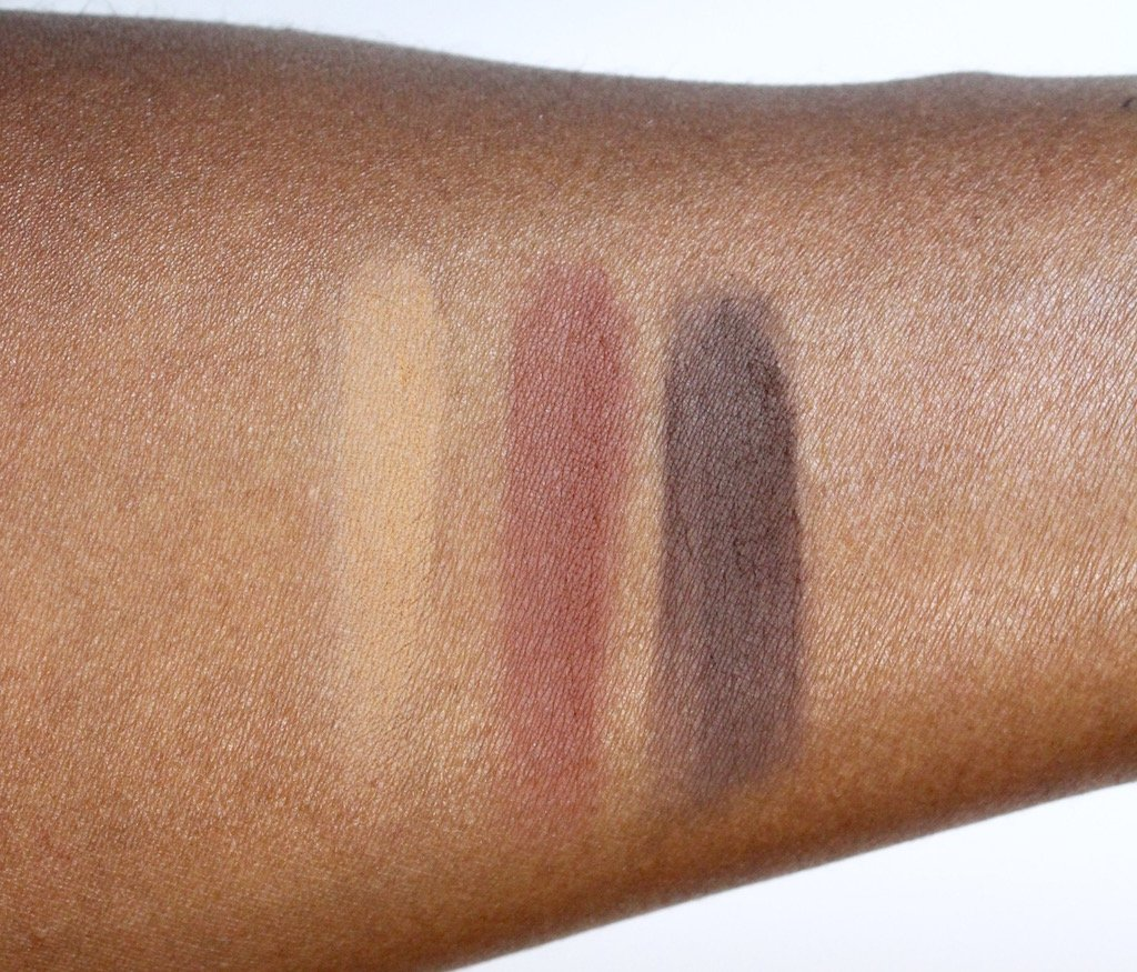 Vera Moore Cosmetics Matte Eyeshadow Swatches